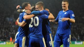 Leicester City crowned English Premier League champions after Tottenham and Chelsea play a draw