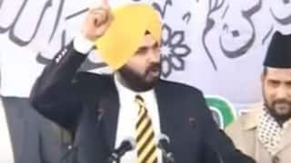 Navjot Singh Sidhu delivers powerful speech on religion and brotherhood at Muslim conference (Watch video)
