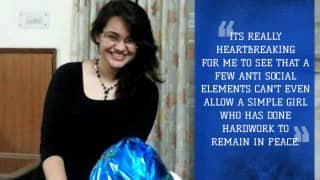 UPSC topper Tina Dabi has over 35 fake Facebook profiles posting obnoxious statements