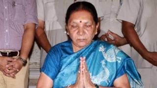 गुजरात : सूत्र, आनंदीबेन पटेल की हो सकती है मुख्यमंत्री पद से छुट्टी