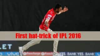 Axar Patel takes first hat-trick of IPL 2016, watch video