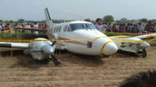 Had just 10 secs to make final decision, says Beech King Air C-90A Air ambulance pilot