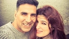 Hey look! Akshay Kumar shared the cutest vacation picture with wifey Twinkle Khanna!