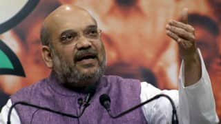 Amit Shah steers clear of controversial issues for Uttar Pradesh polls
