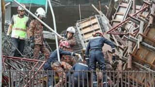 Five Bangladeshi workers trapped under rubbles in Malaysia