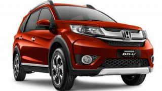 LIVE Honda BRV launch event: Watch Live streaming of Honda BR-V online at 12 PM in India