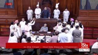Congress protests Narendra Modi's remark that Italian court held Sonia Gandhi guilty