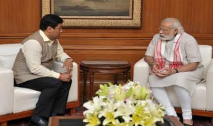 Sarbananda Sonowal meets Narendra Modi, discusses government formation in Assam