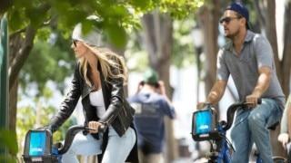 DiCaprio, new gal-pal Ela Kawalec enjoy bike ride in NYC