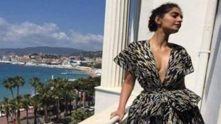 Cannes 2016: Sonam Kapoor goes chic in black!
