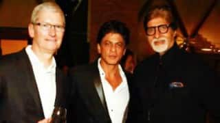 Shah Rukh Khan hosts dinner for Tim Cook, calls him 'rockstar'