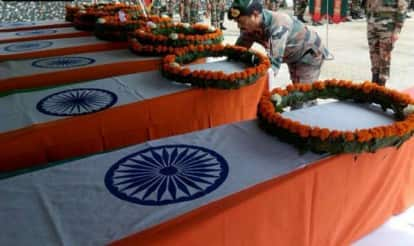 Bodies of six Assam Rifles personnel flown to native places