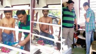 Full-sleeved shirt not allowed for IIT entrance exams, students have to cut shirt to give exams!