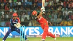 RCB beat DD to qualify for playoffs | LIVE Score Delhi Daredevils (DD) vs Royal Challengers Bangalore (RCB) IPL 2016 Match 56: RCB 139/4 in 18.1 Overs (Target 139)