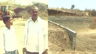 Maharashtra farmer sells 10 acres of land to build dam to conserve water after his pleas to Govt fell on deaf ears!