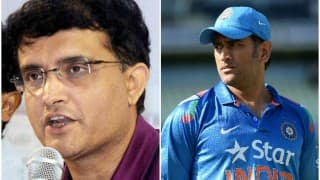MS Dhoni's captaincy questioned by Sourav Ganguly; hints at selectors for change
