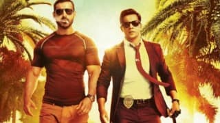 Dishoom new poster: John Abraham and Varun Dhawan look dashing with the swag! (See picture)