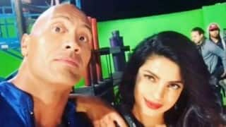 Dwayne Johnson lauds Priyanka Chopra for handling pressure, action (Video)
