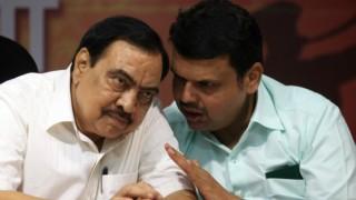 Eknath Khadse Row: Shiv Sena demands 'tainted' Minister's resignation as Devendra Fadnavis meets Narendra Modi in Delhi today