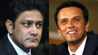 BCCI welcomes appointment of Anil Kumble and Rahul Dravid in ICC