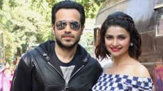 Spotted! Azhar stars Emraan Hashmi and Prachi Desai at Filmistan Studio