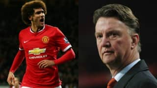 Louis Van Gaal warns Marouane Fellaini to control himself