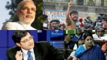 Azadi's new video features Narendra Modi, Smriti Irani, Arnab Goswami; goes viral
