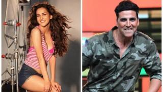 This hottie will make her Bollywood debut opposite Akshay Kumar in Namastey England!
