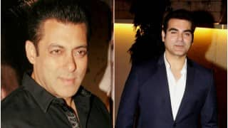 Arbaaz Khan declines question on Salman Khan's marriage