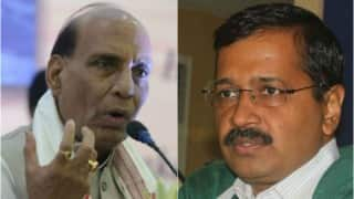 Arvind Kejriwal, Rajnath Singh announce compensation to slain NDMC officer's family