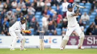 Sri Lanka tour of England 2016: Alex Hales, Jonny Bairstow stabilize hosts after early collapse