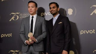 Aziz Ansari Addresses Diversity Issue in Peabody Awards Acceptance Speech