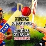 Preview, Gujarat Lions (GL) vs Sunrisers Hyderabad (SRH) IPL 2016 Qualifier 2: Sunrisers hold edge over Lions in virtual semi-final