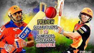 Preview, Gujarat Lions (GL) vs Sunrisers Hyderabad (SRH) IPL 2016 Qualifier 2: Sunrisers hold edge over Lions in virtual semi-final