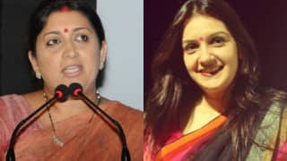 Smriti Irani vs Priyanka Chaturvedi: HRD Minister takes jibe at Rahul Gandhi in Twitter war!