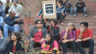 JNU Vice Chancellor terms hunger strike by students 'unlawful', calls for discussion