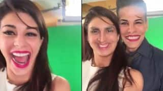 Akshay Kumar and Jacqueline Fernandez' hilarious video will leave you in splits!
