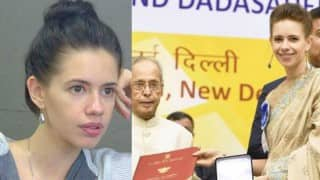 SHOCKING! Kalki Koechlin gets mobbed at National Awards event