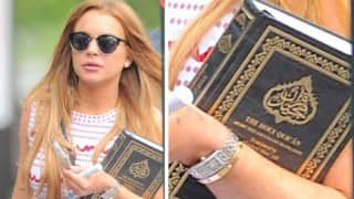 Has Lindsay Lohan converted to Islam? Muslims world over congratulate her