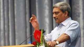 Manohar Parrikar suspects conspiracy to remove evidence in Agusta deal