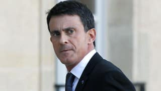 French PM Manuel Valls visits Israel to push for peace plan