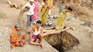 Maharashtra water crisis: Dalit man digs a well in 40 days after his wife humiliated for water