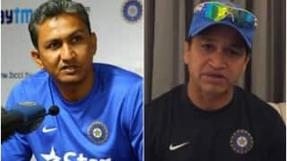 Sanjay Bangar named coach for India's tour of Zimbabwe