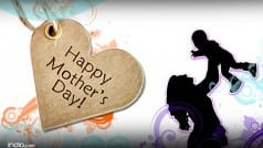 Happy Mother's Day 2016 Wishes: Best SMS, WhatsApp and Facebook messages to wish your mother this weekend!