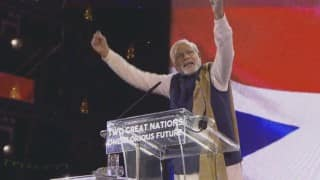 Narendra Modi to address NEC meeting in Shillong today