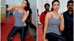 Parineeti Chopra's latest pictures will make you ENVIOUS of her figure! (View pics)