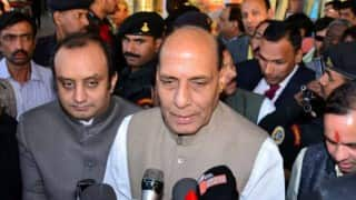 Narendra Modi's 56-inch chest not reduced an inch: Rajnath Singh