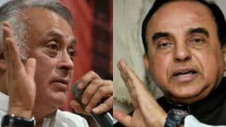 Jairam Ramesh to bring privilege motion against Subramanian Swamy in Rajya Sabha, BJP MP says will teach Congress law