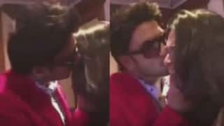 Ranveer Singh caught on camera kissing female fan, while Deepika Padukone is away for xXx: The Return of Xander Cage! (Watch video)