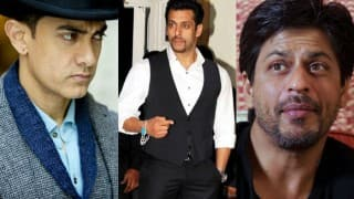 Is Salman Khan trying to compete with Shah Rukh Khan and Aamir Khan?